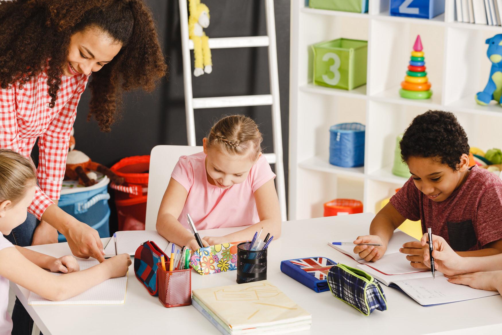 Cours de langue enfants