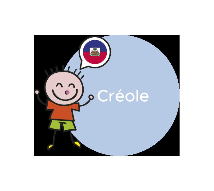 professeur langue créole
